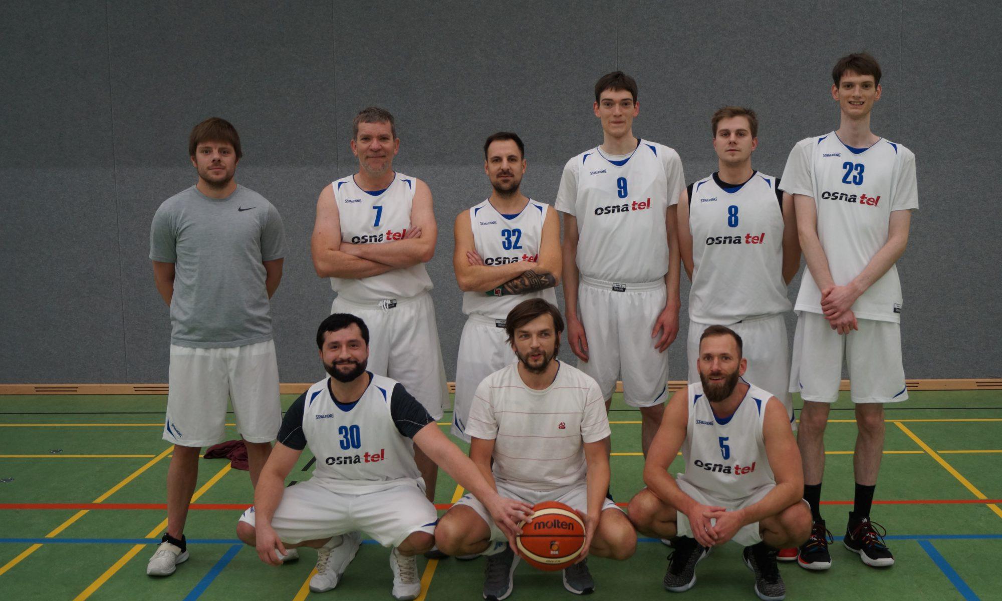 Mannschaftsfoto Basketball Herren